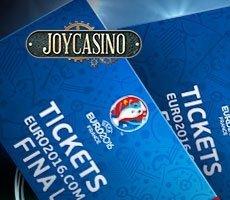 В Joy Casino проходит турнир «Евро-2016»
